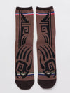 Native American Indian Jewelry Motif Socks 25-28cm-Socks-Ametsuchi