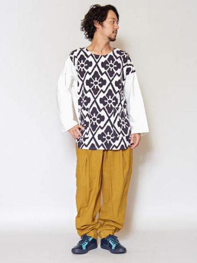 Unisex Easy Pants-Pants & Shorts-Ametsuchi