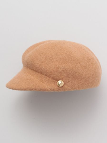 Felt Baker Boy Hat-Caps & Hats-Ametsuchi