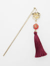 Bellflower Ball KANZASHI Hair Stick-Accesorios para el cabello-Ametsuchi