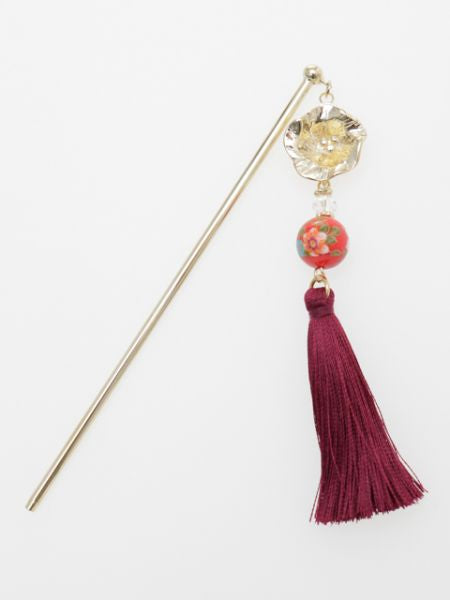 Bellflower Ball KANZASHI Hair Stick