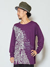 Ganesha Oversized Long Sleeve T Shirt