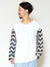 Patchwork Sweat Men's Top