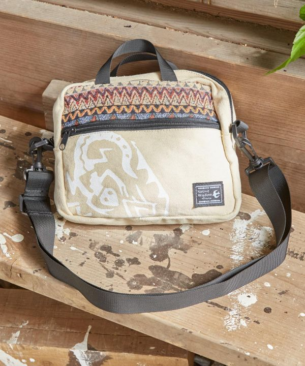 Native Pattern Mini Shoulder Bag-Bags & Purses-Ametsuchi