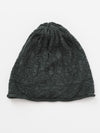 Geometrical Pattern Knitted Beanie