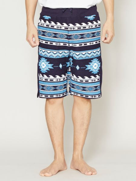 Navajo Pattern Sweat Men 's Shorts