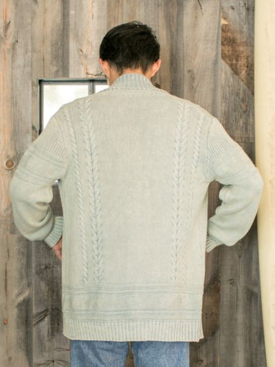 Cotton Knitted Men's Cardigan