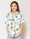 Mixed Hawaiian Motiv ALOHA Shirt