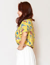 Mixed Hawaiian Motif ALOHA Shirt-Ametsuchi
