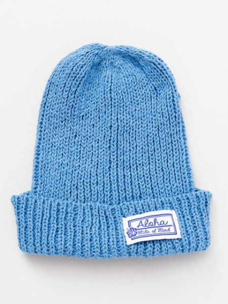 Aloha Cotton Knitted Beanie
