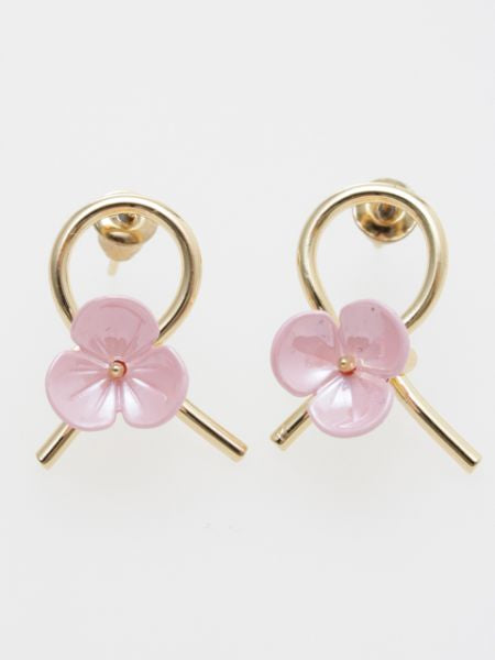MIZUHIKI Knot Earrings-Ametsuchi