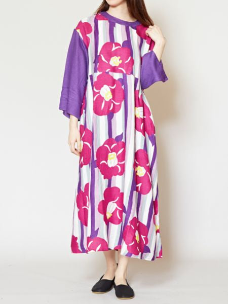 Blooming Camellia Dress-Ametsuchi