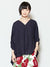 HAGOROMO Cotton Oversized Top