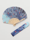 Gold Fish Foldable Fan with Pouch-Ametsuchi