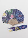 Fireworks Foldable Fan with Pouch-Ametsuchi