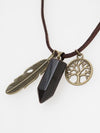 Traveler's Amulet Necklace -Necklaces-Ametsuchi