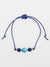 Luminous HOTARUDAMA Beads Anklet