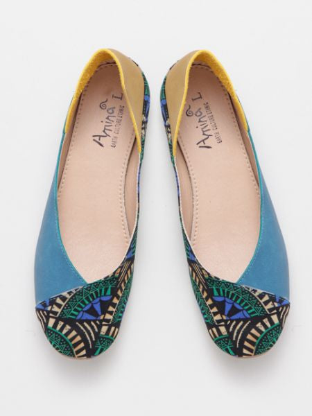 African Pattern Pumps