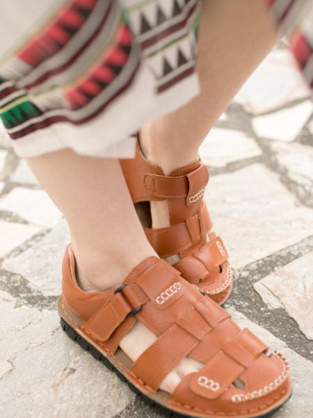 Faux Leather Nomad Sandals