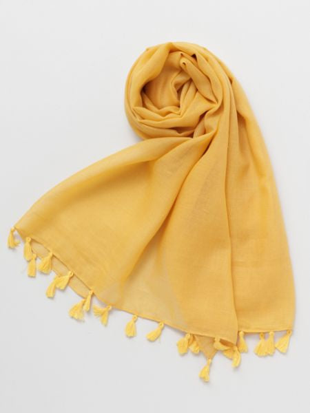 Plain Stole with Tassel-Ametsuchi