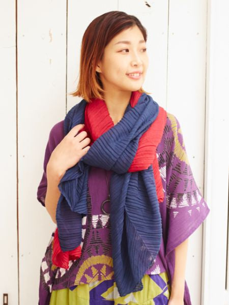 Bi Color Stole-Ametsuchi