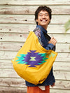 Navajo Pattern Big Tote Bag-Ametsuchi