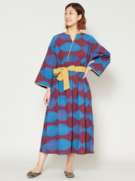 Modern Japanese Pattern Dress