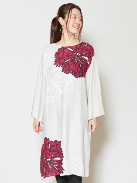 Dianthus Printed Dress