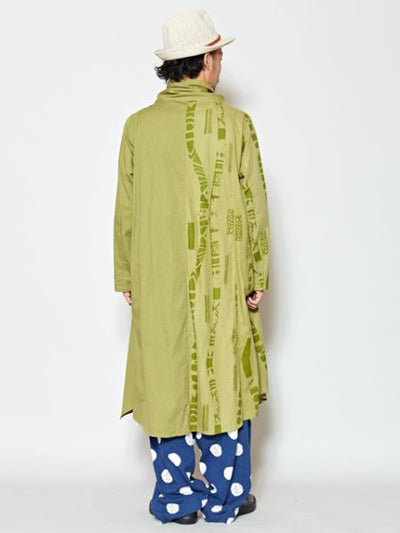 African Art Feel Long Jacket