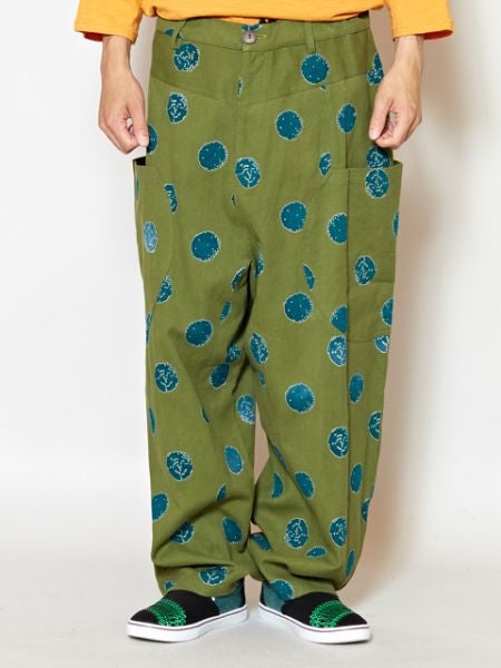 Dot Pattern Men 's Harem Pants