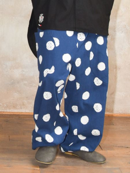 Dot Pattern Men's Harem Pants