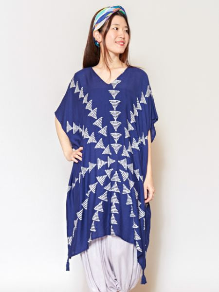 Nature Inspired Pattern Tunic