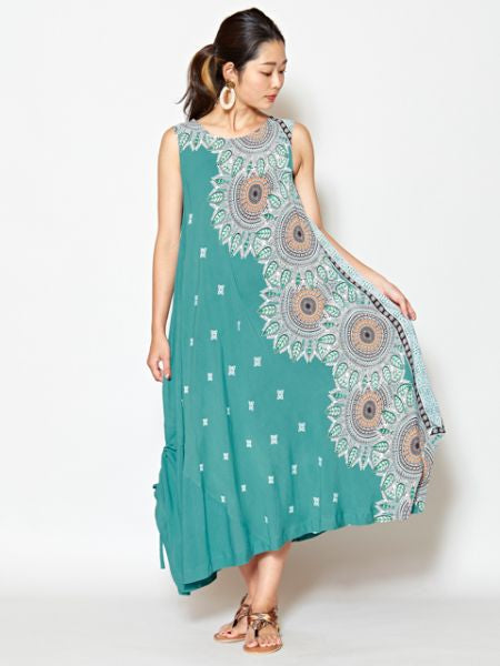 Mandala Sleeveless Dress