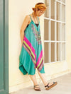 Dashiki Pattern Convertible Dress-Ametsuchi