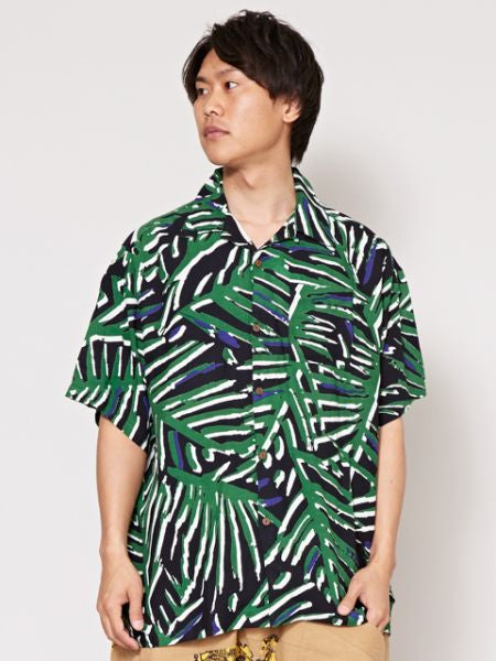 GEOM Pattern Men's Shirt-Ametsuchi