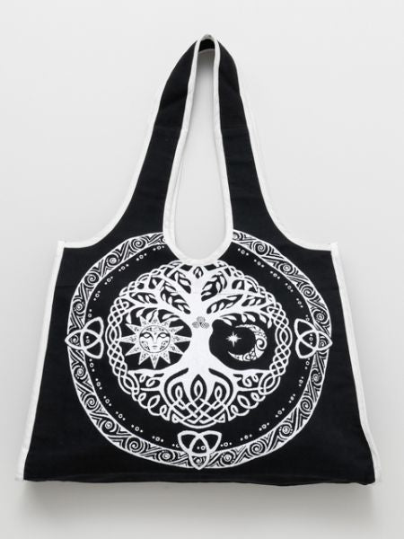 Tree of Life Tote Bag-Bags & Purses-Ametsuchi
