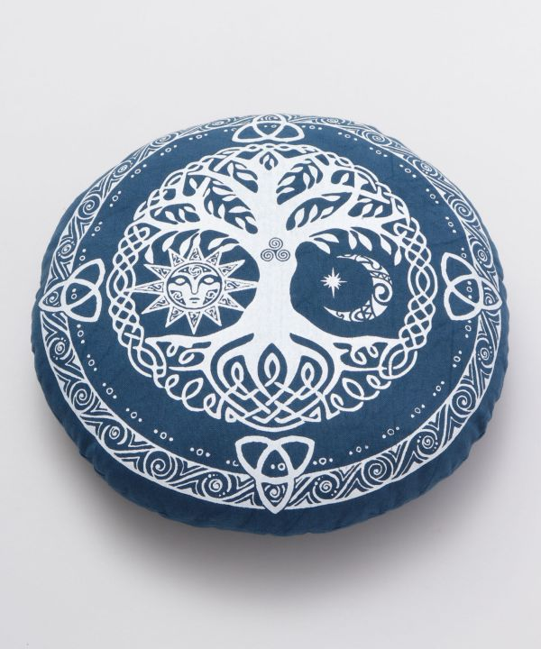 Tree of Life Meditation ZAFU Cushion