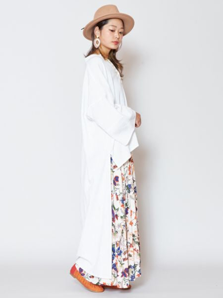 High Low Hem Long Kimono Cardigan