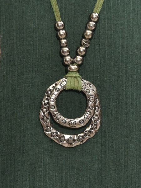 HMONG Tribe Inspired Ring Necklace