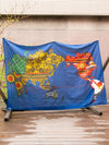 World Map Multi Cloth