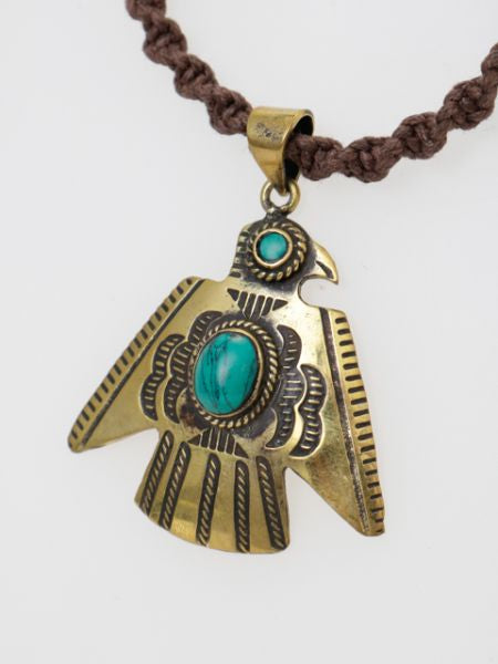 Native American Motif Necklace-Ametsuchi