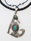 Native American Motif Men's Necklace-Ametsuchi