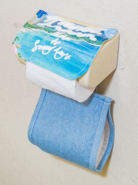 Hawaiian Scenery Toilet Paper Holder