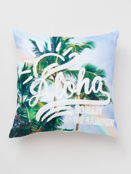 Hawaiian Scenery Cushion Cover