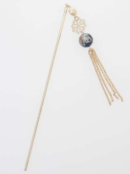 Chrysanthemenball KANZASHI Hair Stick
