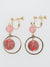 Arabesque Ball Clip Earrings