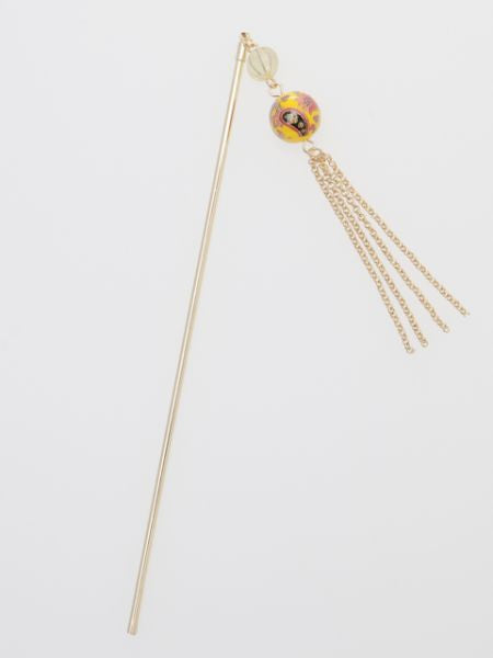 Arabesque Ball KANZASHI Hair Stick-Ametsuchi