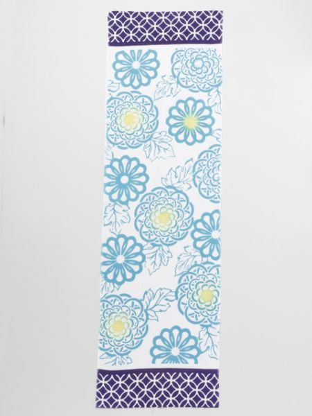 Long TENUGUI Towel Chrysanthemum