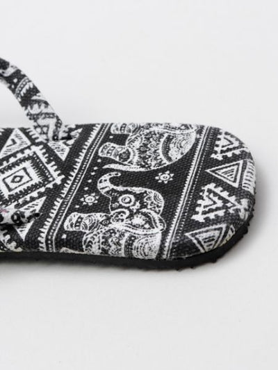 Elephant Men's Thong Sandals-Ametsuchi