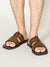 Faux Leather Bohemian Sandals